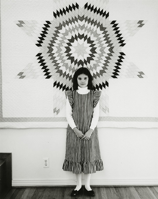 "Stacy Graham, Dallas, Texas, 1984, 81-8412-43, 8""x10"" gelatin silver chloride contact print"