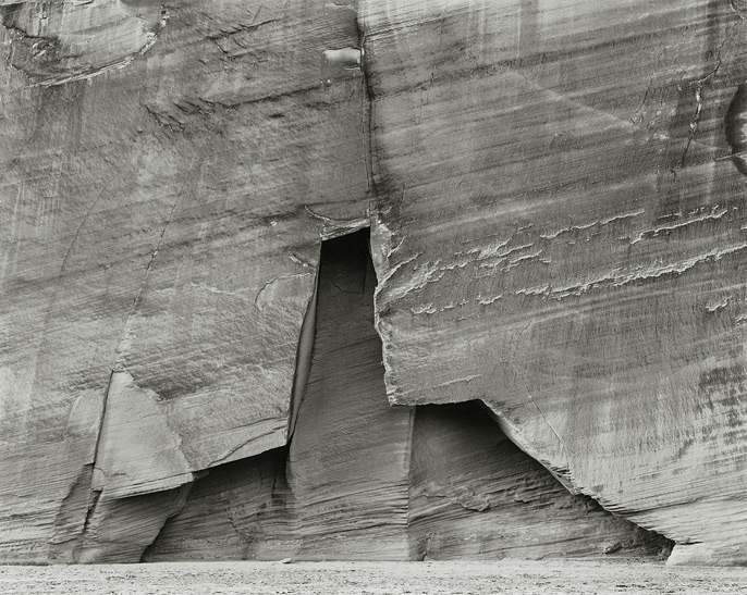 Canyon del Muerto, 1991, 8109110-06-21, 8x10-inch gelatin silver chloride contact print