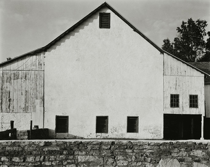 "Holicong, Bucks County, Pennsylvania, 1992, 81-9208-01, 8""x10"" Gelatin Silver Chloride Contact Print"