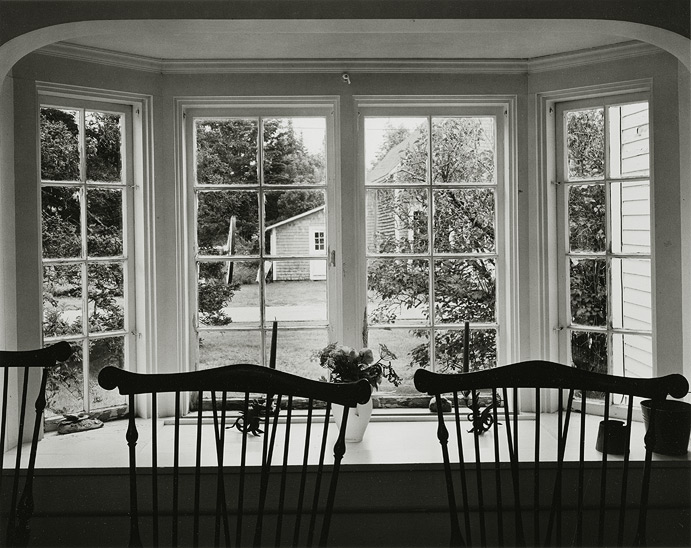 "Tenants Harbor, Maine, 1998, 81-98-7-35-51, 8""x10"" Gelatin SIlver Chloride Contact Print"
