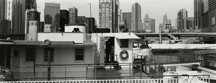 "Chicago, 2008, C82-0805-08-08, 8""x20"" gelatin silver chloride contact print"