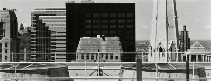 "Chicago, 2008, C82-0806-65-87, 8""x20"" gelatin silver chloride contact print"